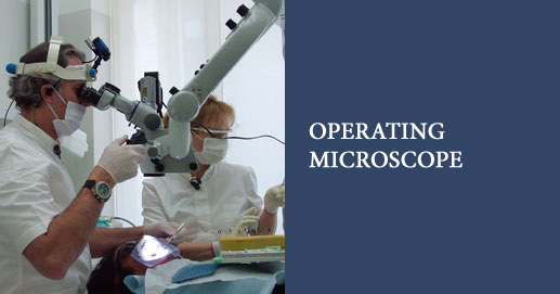 Operating Microscopy for high-magnification viewing