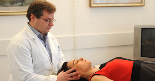 Phase of an osteopathic treatment