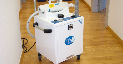 Environmental cleaning and disinfection device